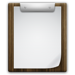 Clipboard png transparent. Files icon ivista iconset