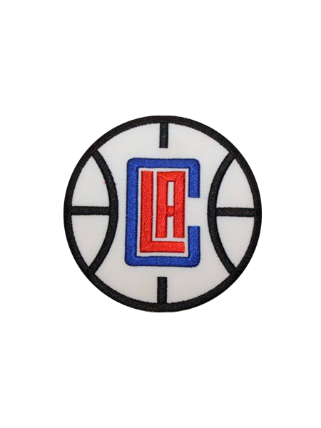 Clippers logo png. La basketball patch store