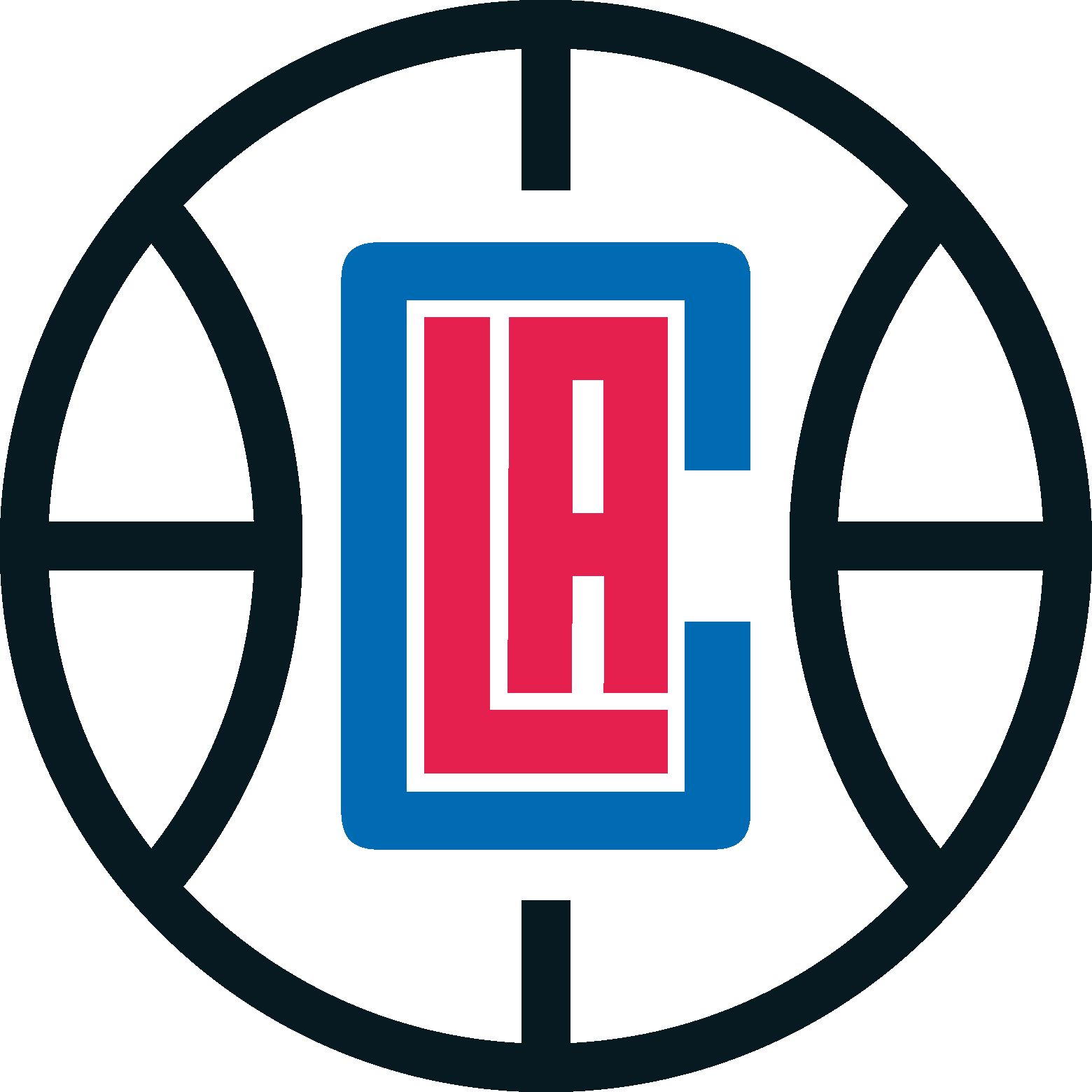 Nba drawing logo. Clippers los angeles team