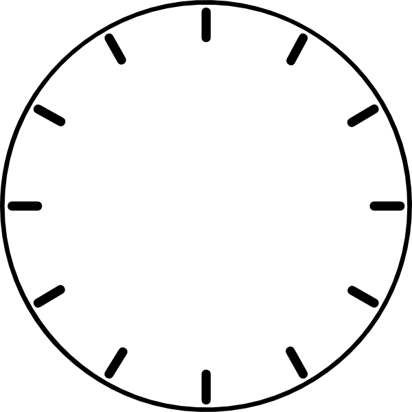 Clock arms png. Face no hands clip