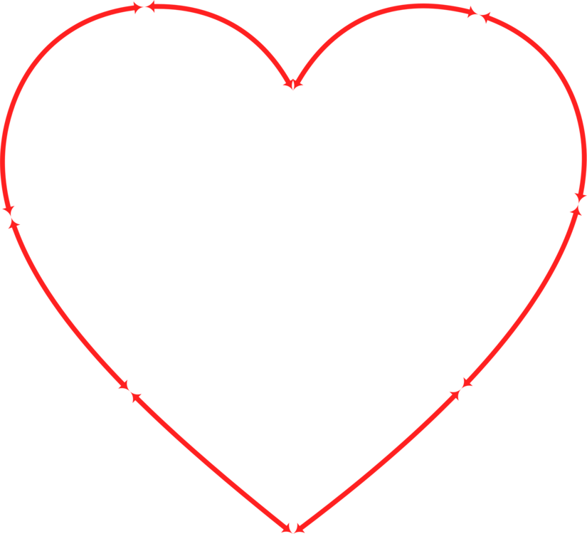 Clock clipart heart. Computer icons drawing arrow