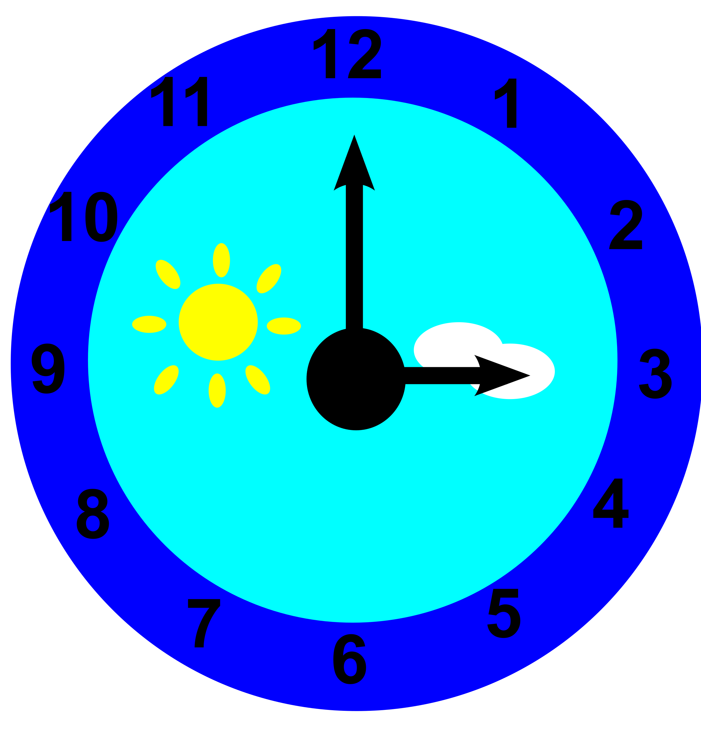 Clock clipart purple. Is pointing at three