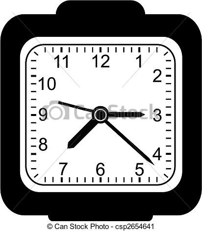 Clock clipart square. Collection of black