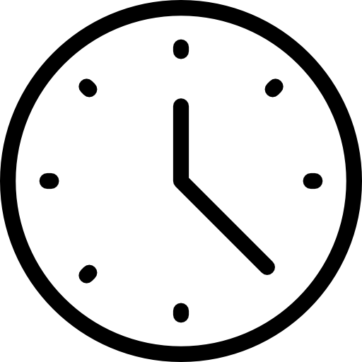 Clock icon png. Free time and date