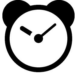 Clock icon png transparent. File alarms wikimedia commons