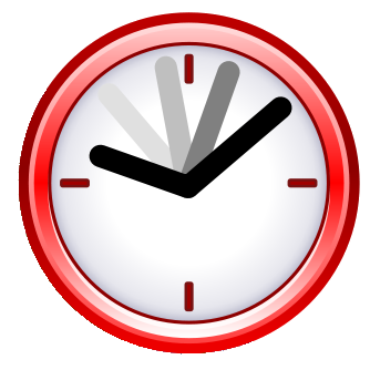 Clock png. File red wikimedia commons