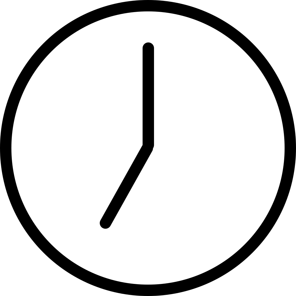 Clock png. Svg icon free download