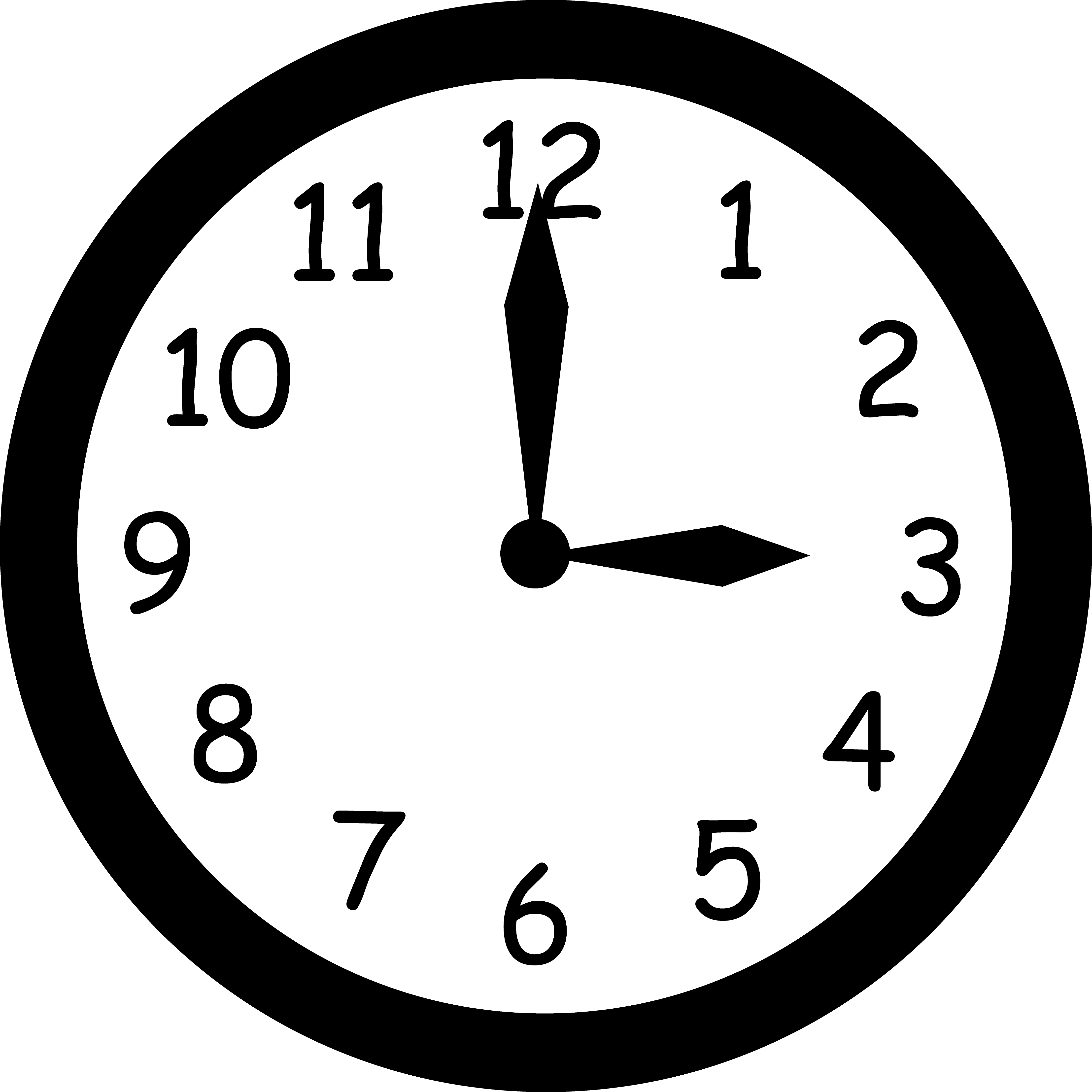 Daylight saving time png. Free blank clock clipart