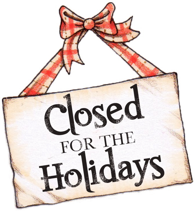 Closed clipart business closed. Check out our holiday