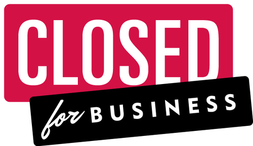 Closed clipart business closed. Adidas closing brant manufacturing