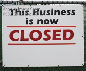 Closed clipart business closed. Down stock photography acclaim