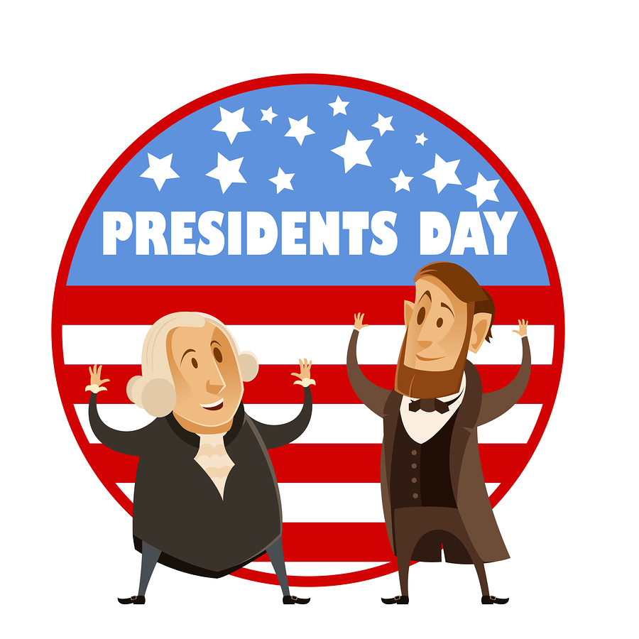 Closed clipart presidents day. Fun facts about