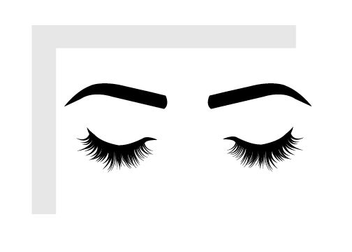 Closed eyelashes png. Unique greeting cards lovely