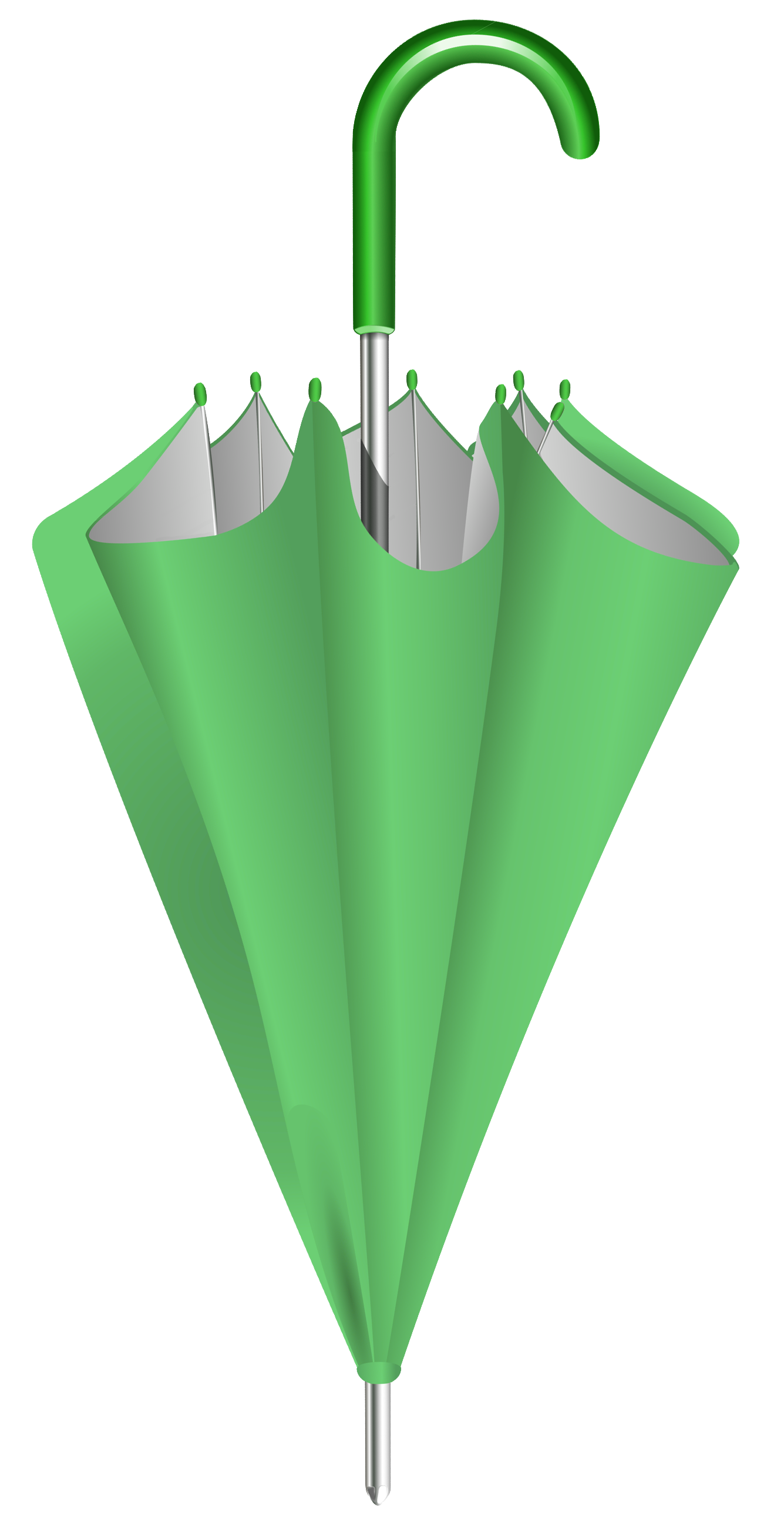 Closed umbrella png. Green clipart image gallery