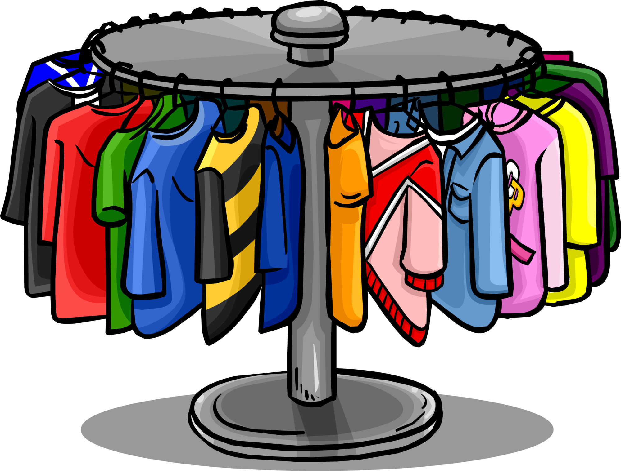 Hanger clothing rack clip. Clothes clipart png image transparent library
