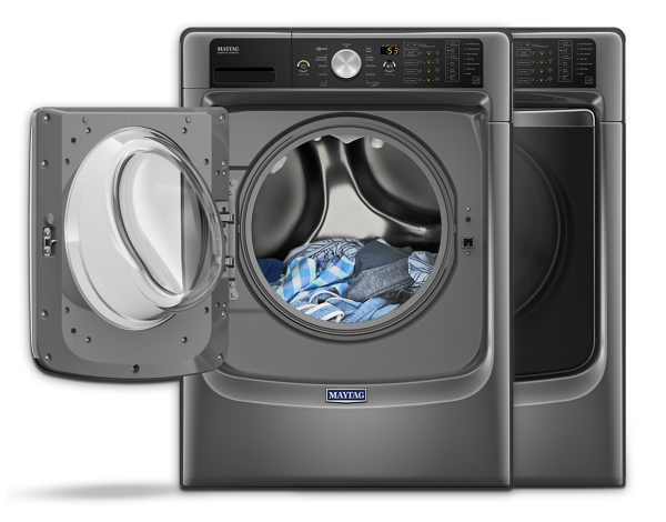 Electronics drawing home appliance. Laundry appliances washers and