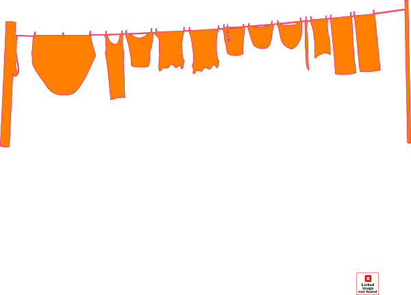 Wash drawing clothesline. Png washing line transparent