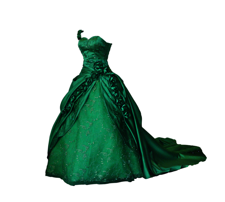 Green dress png. Vintage by thelongestgoodbye on