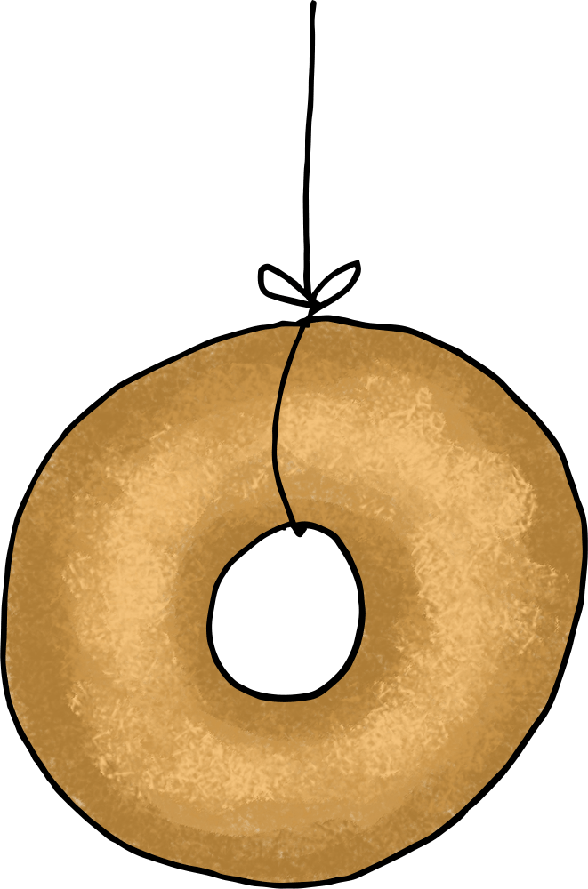 Clothespin clipart string. Donut on a the