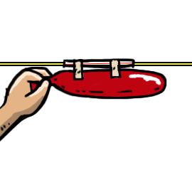 Clothespin clipart string. Make a balloon rocket