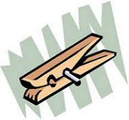 Clothespin clipart. Free