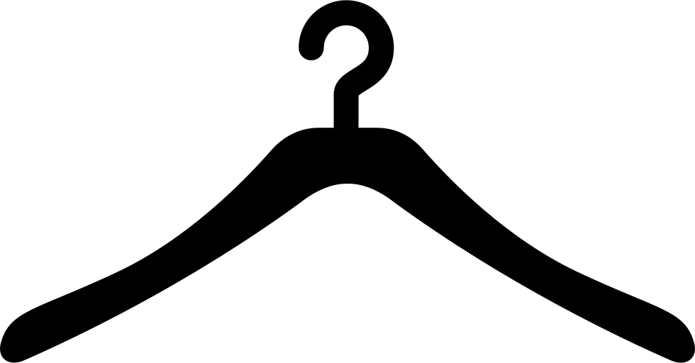 Clothing clip cloth hanger. Clothes svg png icon