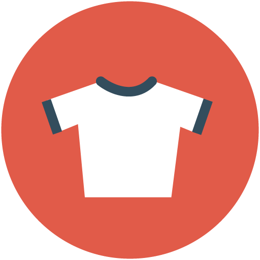 Clothing clip icon. T shirt computer icons