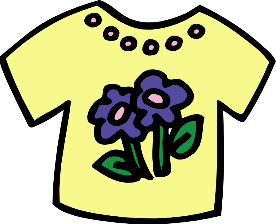 Clothing clip spring. Shirt clipart clothes pencil