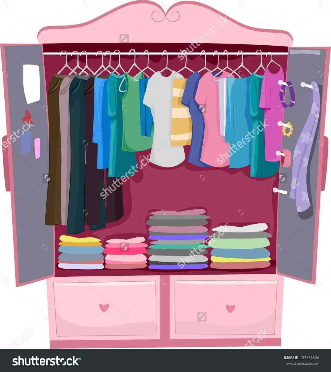 Clothing clipart closet full clothes. Athelred com plastic coat