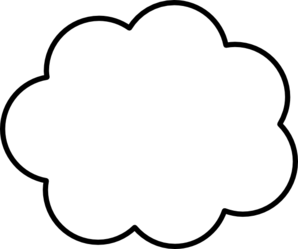 Cloud clipart. Clip art at clker