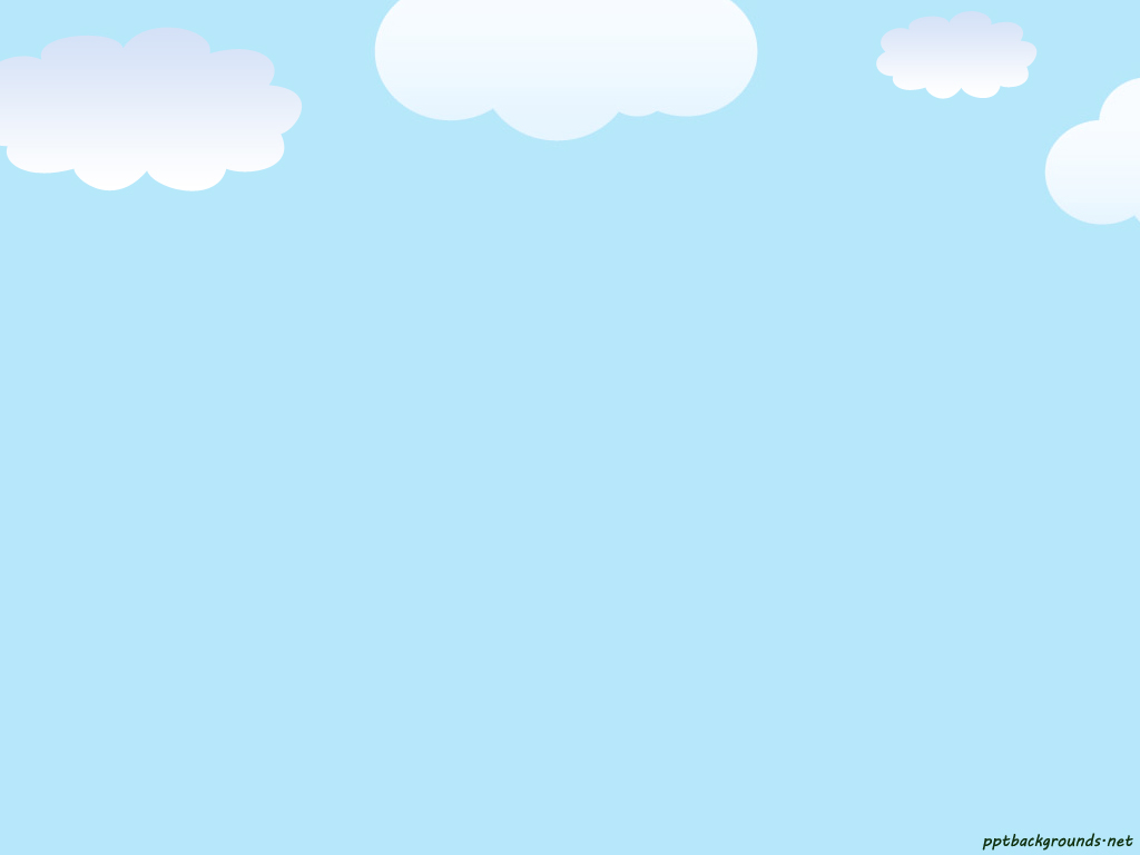 Cloud clipart powerpoint. Template sky clouds ppt