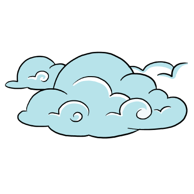 clouds drawing png