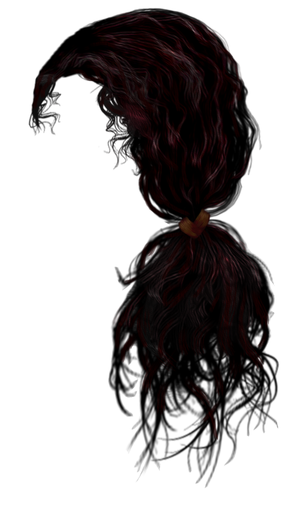 Curls drawing hair strand. Http www pngall com
