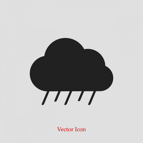 Cloud icon weather