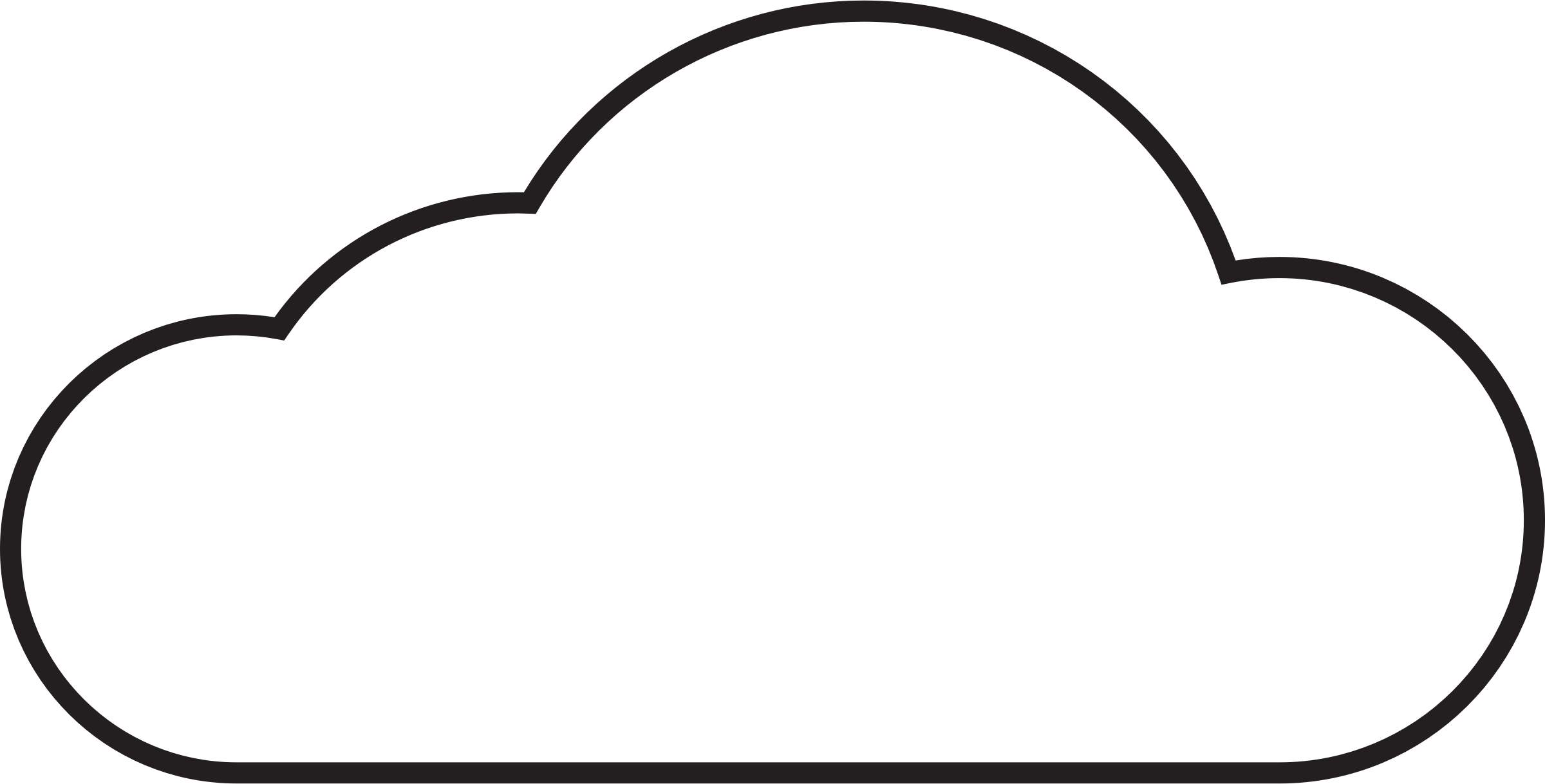 Cloud outline png. Icons vector free and