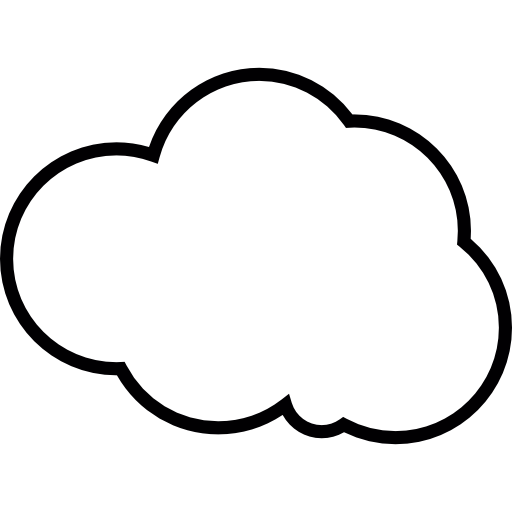Cloud outline png. Vector free icons and