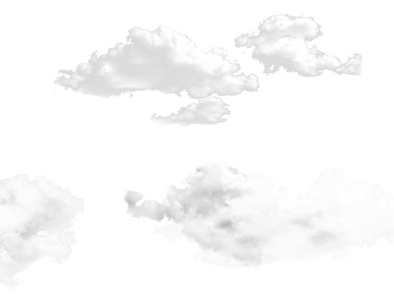 Photoshop overlay png. Clouds for free and