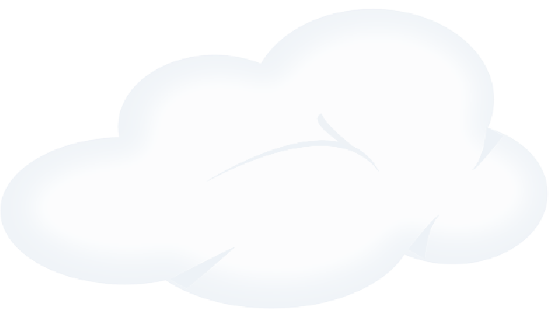 Cloud png cartoon. Set blue outline sun