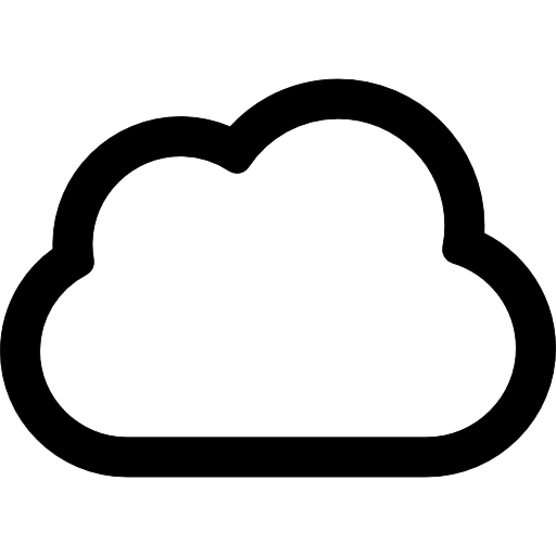 Cloud png vector. Free outline icons and
