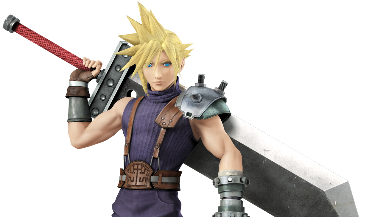 Cloud strife hair png. Dual strategy banned for
