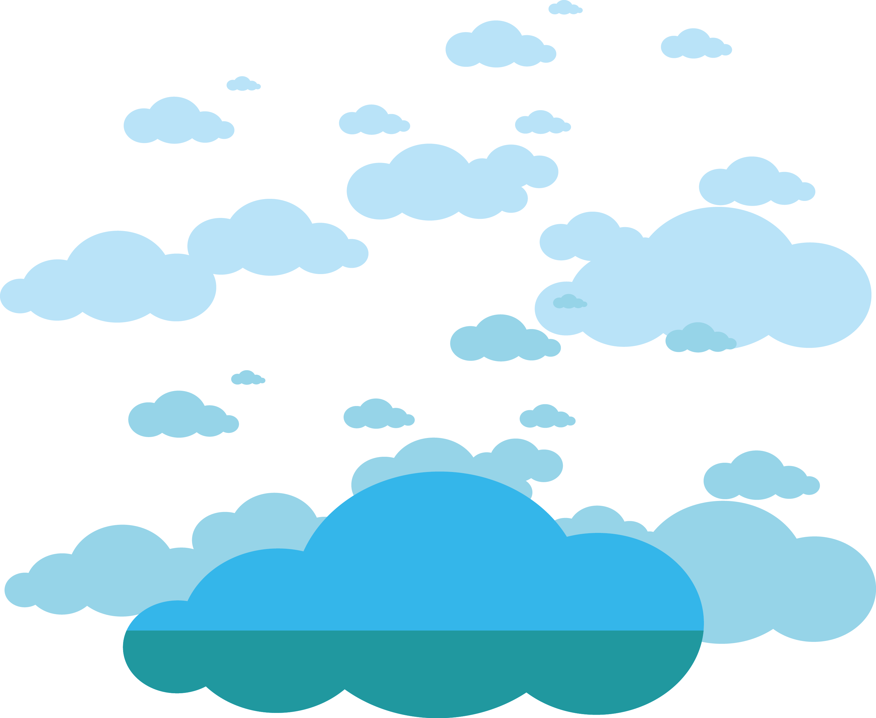 Cloud vector png. Clouds material transprent free
