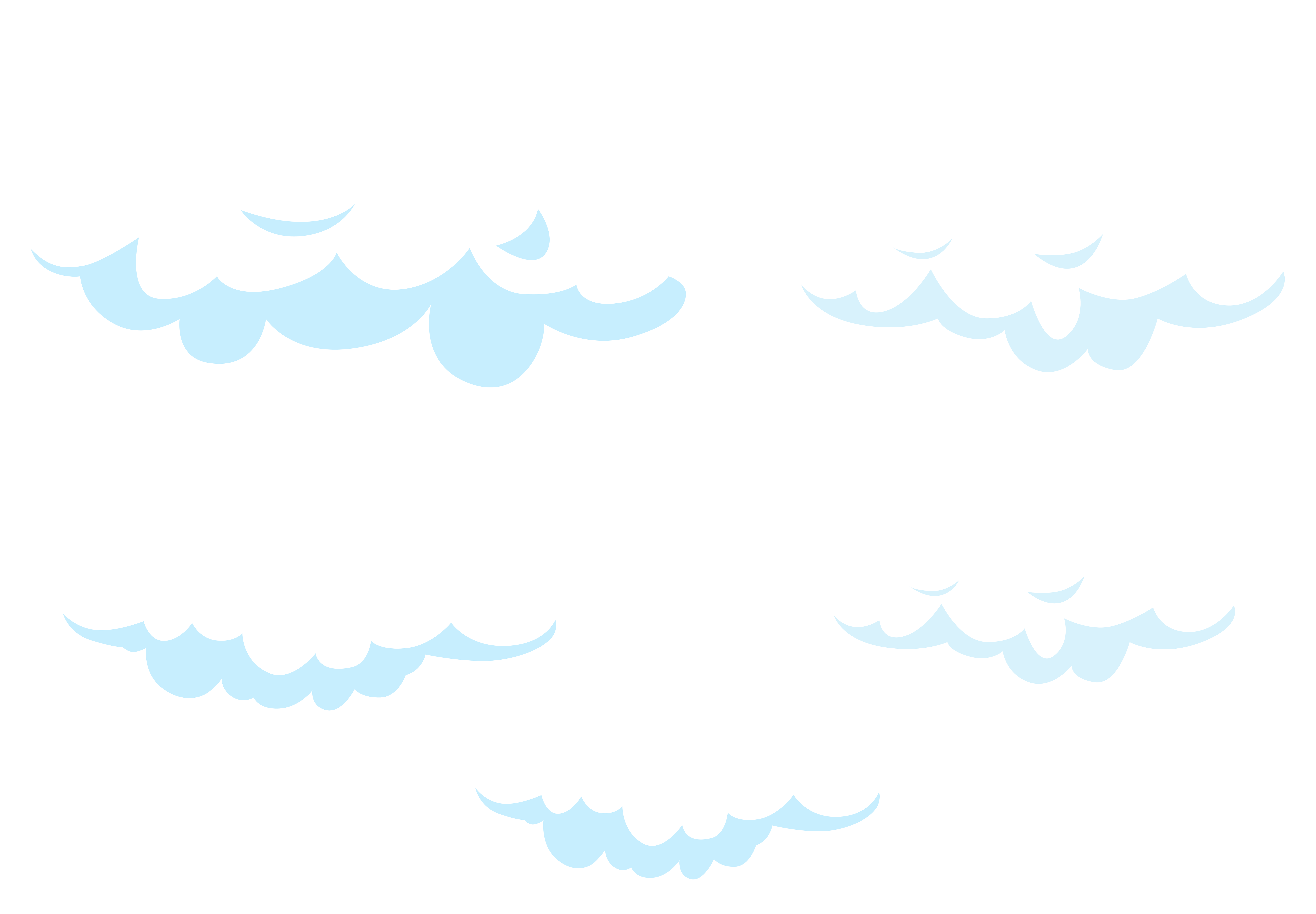 Clouds clip art png. Cartoon set transparent image
