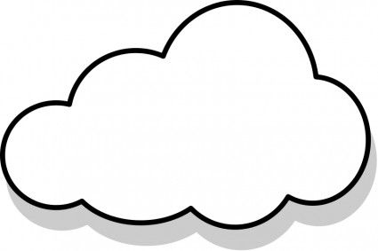 Clouds clipart. The top best blogs