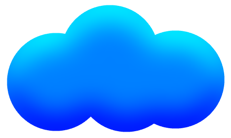 Blue cloud png. Free cartoon download clip