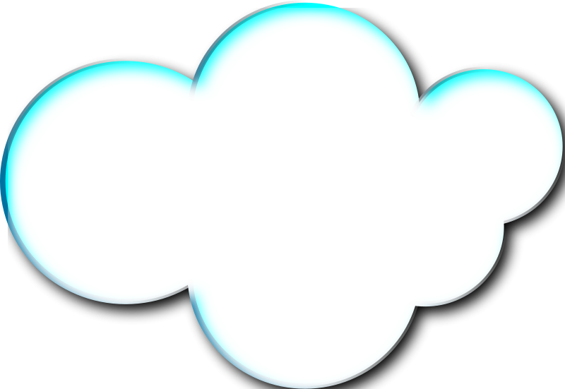 clouds clipart square