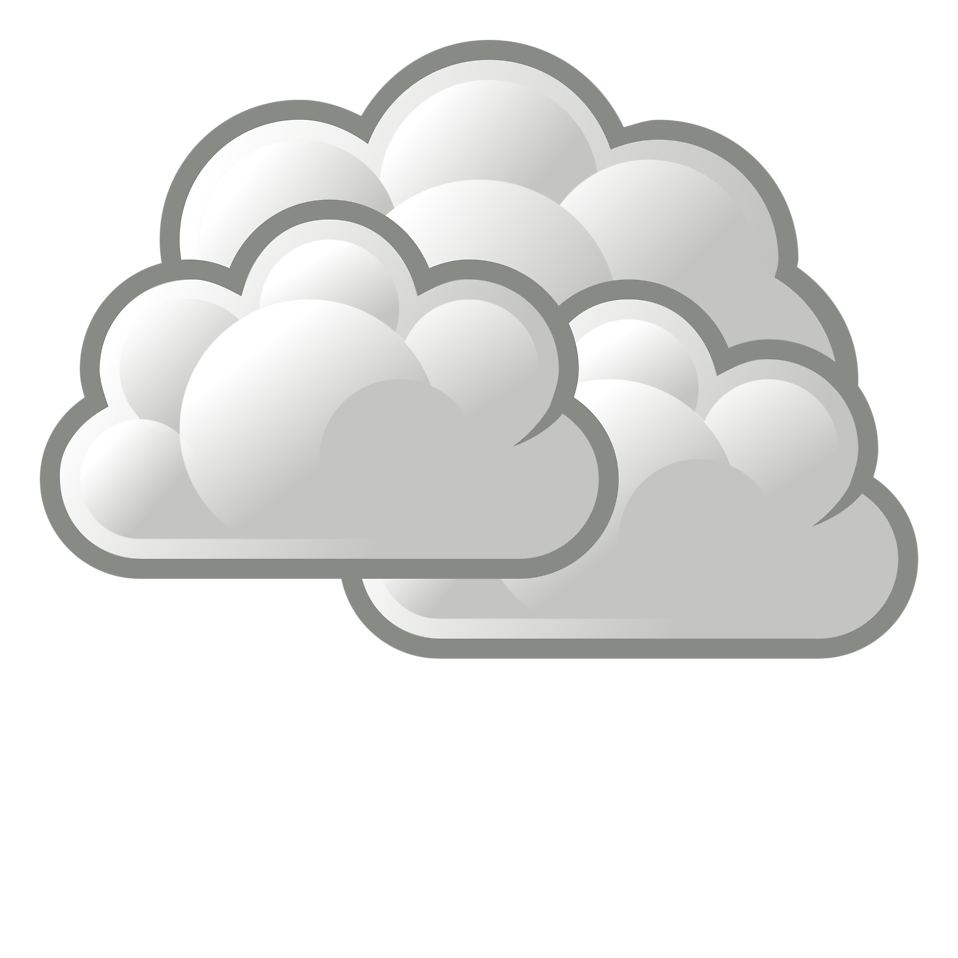 Clouds illustration png. Weather free stock photo