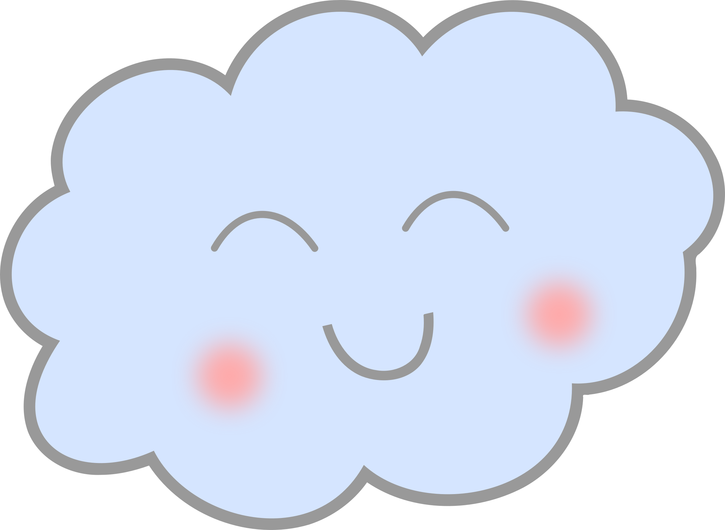 Clouds png cartoon. Happy cloud icons free