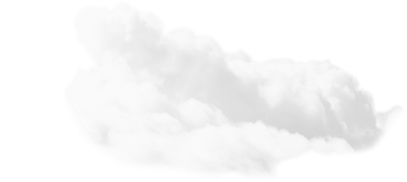 Clouds sky png. Black and white transparent