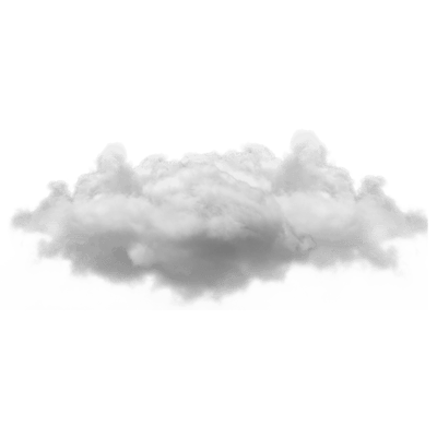 Fog png transparent. Blue cloud stickpng small