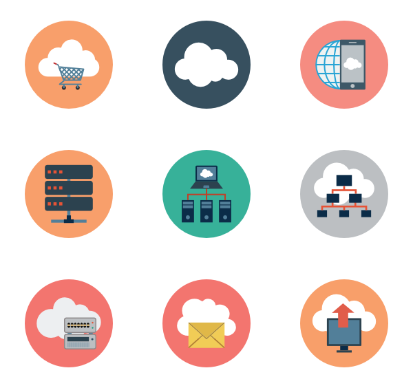 Clouds vector png. Cloud icons free computing